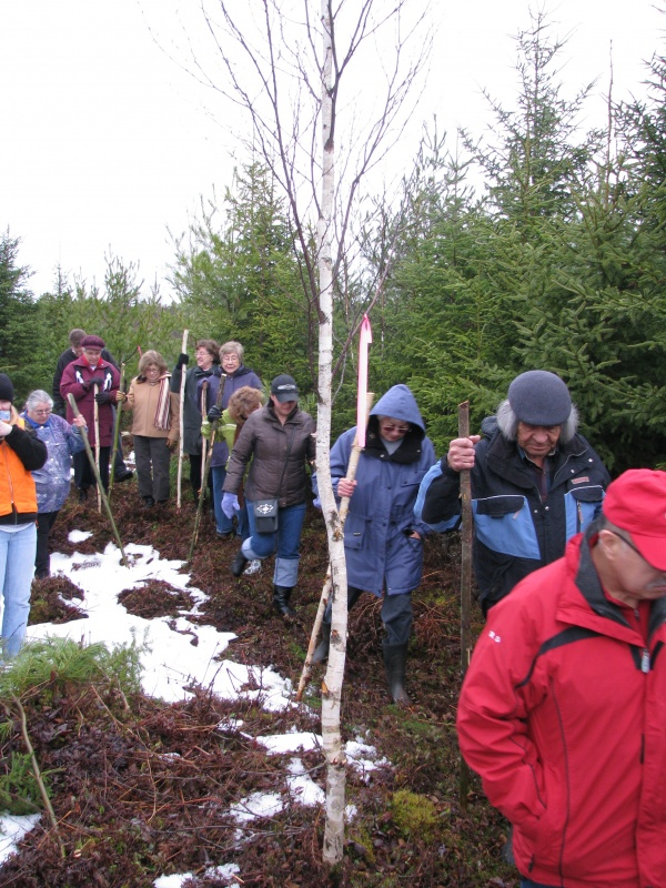In December 2008, Mi'kmawey Debert Elders' Advisory Council and MDCC staff visited the proposed site location for the future building.