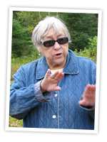 Elder Murdena Marshall (Eskasoni First Nation) talks about the meaning of Debert, September 2008.