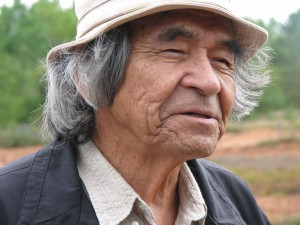 Visitors will have the opportunity to gather around Elder Douglas Knockwood and listen to his stories about the Mi'kmaw community in Newville Lake, along with other life stories.