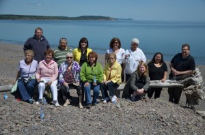 The Elders' Advisory Council and the MDCC staff wish visitors to feel a sense of well-being as we do when we gather at important places like Partridge Island, Nova Scotia.
